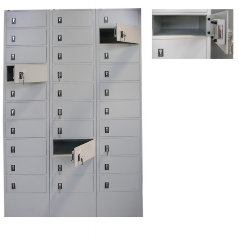 Security Pigeonholes and Deposit Lockers