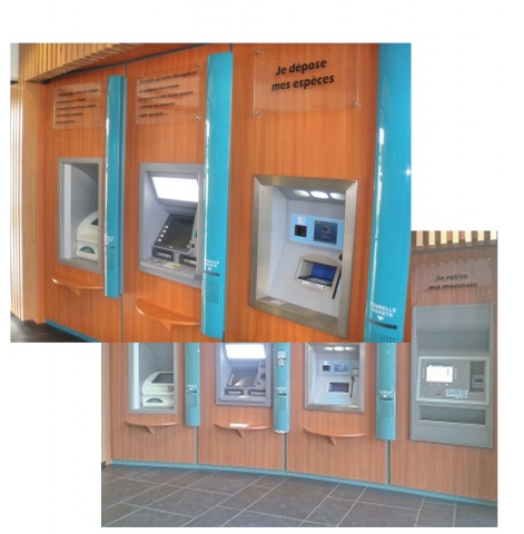 Drum Deposit Safes for ATM
